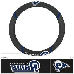 NEW Los Angeles Rams Steering Wheel Cover Universal Fit 14.5