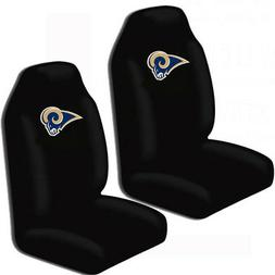 New NFL LA Los Angeles rams 2 Front Universal Fit Car Truck