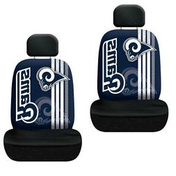 New NFL LA Los Angeles Rams Printed Logo Car Truck 2 Front S