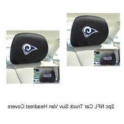 New NFL Los Angeles Rams Car & Truck Embroidered Headrest Co