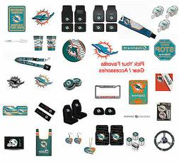 New NFL Miami Dolphins Pick Your Gear / Car Truck Accessorie
