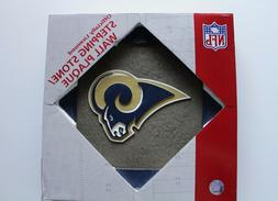 "NFL 12"" Los Angeles Rams Stepping Stone/Wall Plaque RESIN/NE"