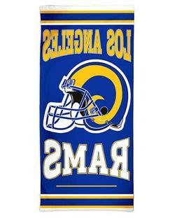 NFL Los Angeles LA Rams Beach Towel 30x60