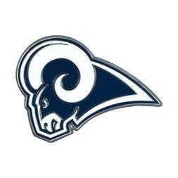 Fanmats NFL Los Angeles Rams Diecast 3D Color Emblem Car Tru