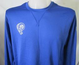Nike Nfl Los Angeles Rams Sweatshirt Blue Men Shirt L