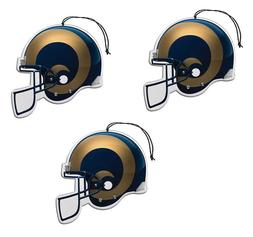 NFL St. Louis Rams Auto Air Freshener, 3-Pack