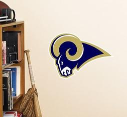 NFL St. Louis Rams Logo Fathead Wall Decal, 15 x 12-inches,