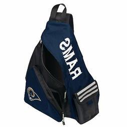 NWT NFL Los Angeles Rams Leadoff Slingbag Sling  School Gym
