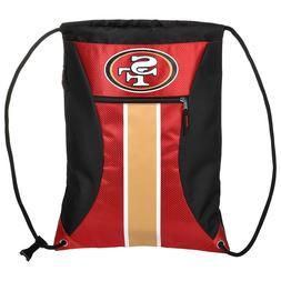 San Francisco 49ers High End Big Stripe Zipper Drawstring Gy