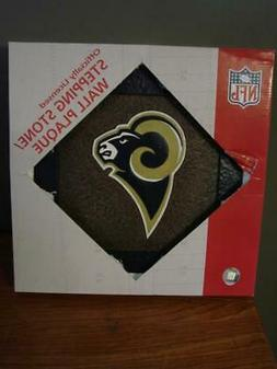 St. Louis Rams Stepping Stone Wall Plaque BRAND NEW IN BOX