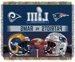 Super Bowl LIII New England Patriots VS. Los Angeles Rams Wo