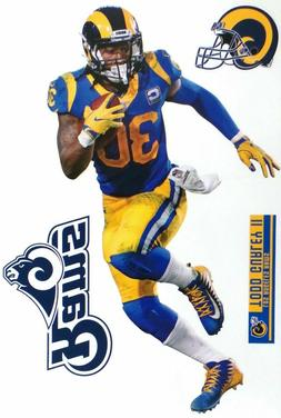 Todd Gurley Los Angeles Rams Fathead Teammate Sticker Wall D