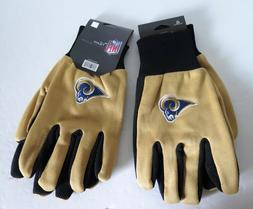 TWO PAIR OF LOS ANGELES RAMS, SPORT UTILITY GLOVES FROM FORE